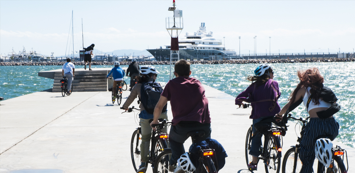 City to Sea Tour photo - Reaching Faliro Bay